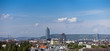 Skyline Vienna - Danube valley