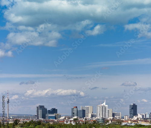 Skyline Donau City Vienna