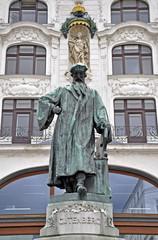 Johannes guteberg Denkmal, Wien
