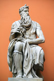 Sculpture of Moses by Michaelangelo poster