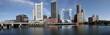 boston harbor skyline panorama
