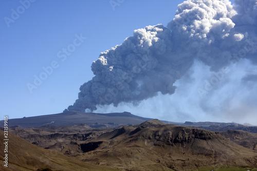 Leinwandbild Motiv Eyjafjallajökull