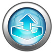 "Glossy 3D effect button ""Upload"""