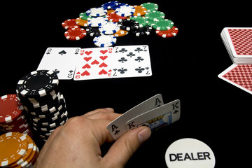 In game poker
