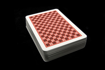 isolated deck cards