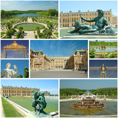 Versailles collage