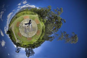 planet 360 panorama