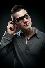 nerd teen