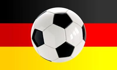 football and german flag