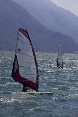 windsurfing garda włochy