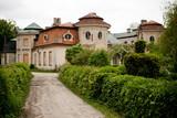 Old abandoned manor Bratoszewice near Lodz poster