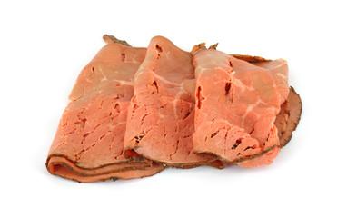 Deli cut rare roast beef