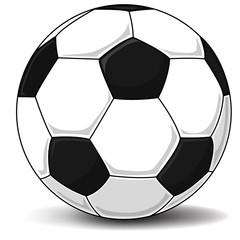 Detailed Soccer ball (football), isolated