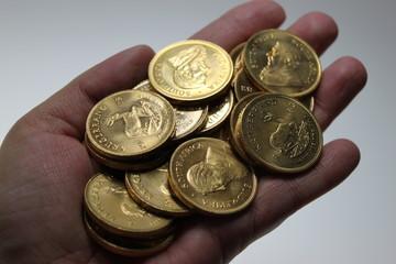 Handvoll Gold