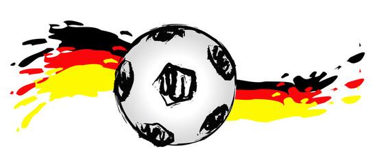 Fussballwelle in Deutschland