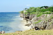 Philippines, Bantayan -  cliff side beach nb.1