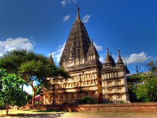Myanmar, Bagan - Mahabodhi Temple