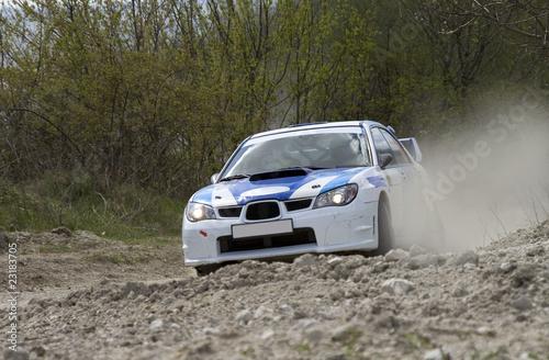 Rally car - 23183705