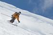 elegant Telemarken im steilen Gelände