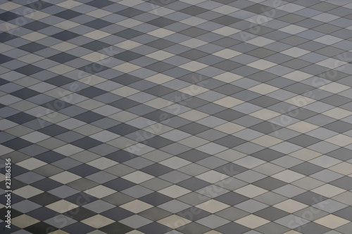 poster of metal background with rhombus
