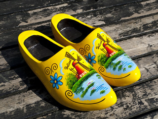 Wooden Dutch Shoes