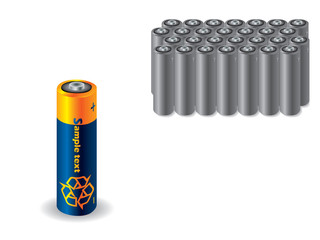 Recyclable battery vs old batteries