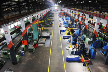 factory indoor