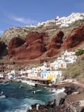 Steilküste auf Santorin