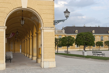 Colonnade of Schonbrunn