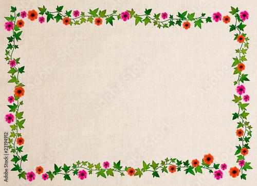 布地のフレーム