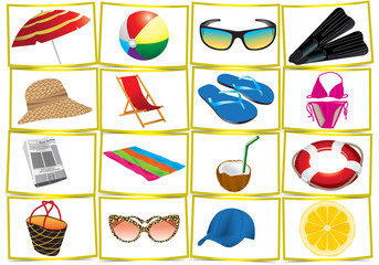 accessori spiaggia