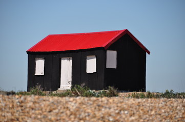 Colourful hut