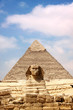 Quadro Sphinx and the Great Pyramid