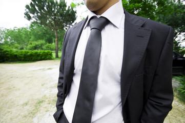 uomo d'affari elegante