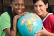 Leinwanddruck Bild - Globalisierung, Afrika