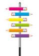 Crayons Couleurs X6