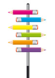 Fototapety Crayons Couleurs X6