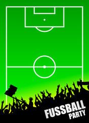 plakat fussball-fans I
