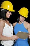 Female Construction Supervisors poster