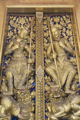 Details of Door at Wat Phra Kaew