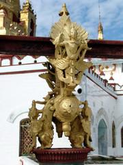Myanmar, Inle lake - Bell of fortune detail nb.1
