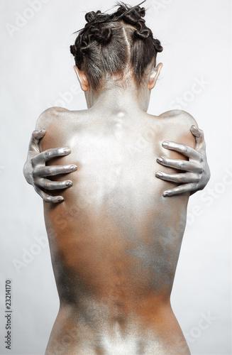 nude silver girl - 23214170