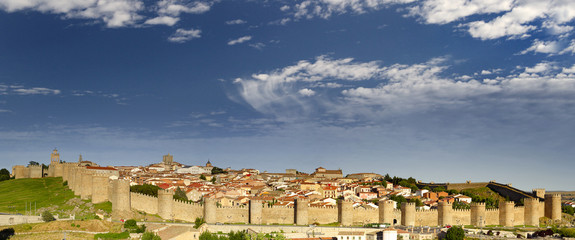 Medieval city Avila, Spain