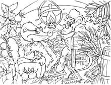 Mysz i Mole (bajka Calineczka)