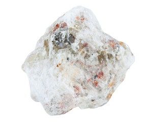 Mineral feldspar
