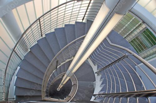 Leinwanddruck Bild treppe