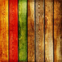 Fond en bois de couleur des planches-abstrait