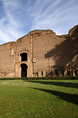 Terme di Caracalla (Baths of Caracalla) in Rome, Italy
