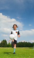 Kind, Fußball, Training