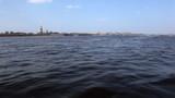Sail on boat, Neva, Saint Petersburg poster